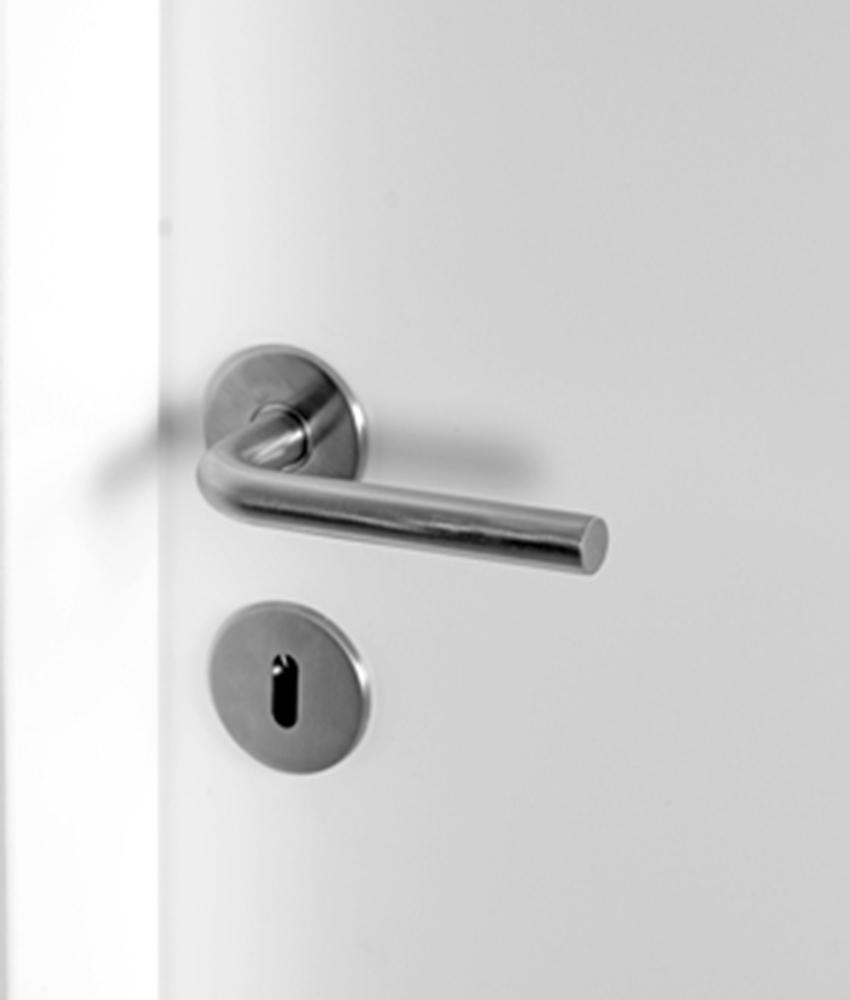 Massivt 16 mm Nexø dørgreb til indvendige døre FM86
